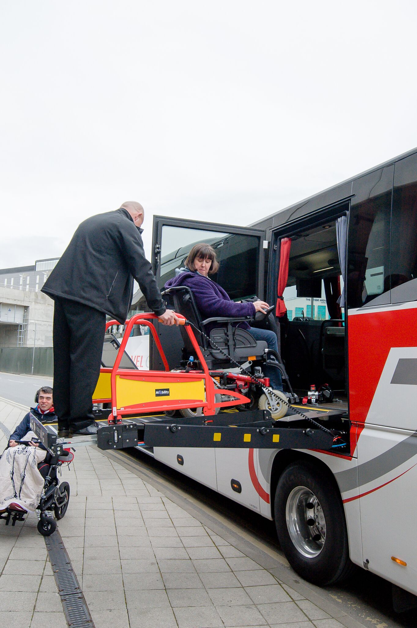 accessible coach lift