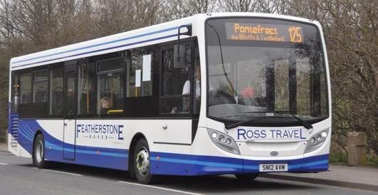 pontefract bus service