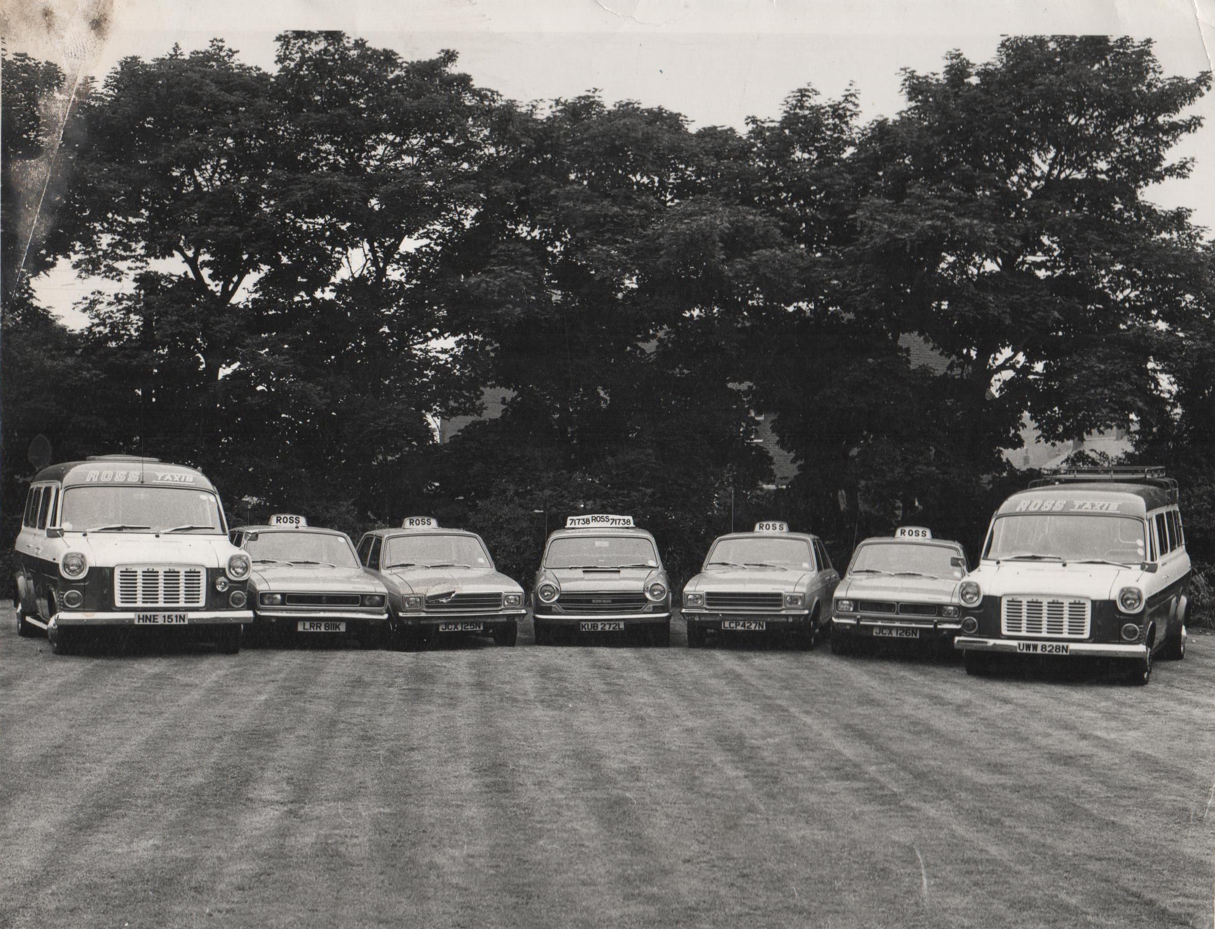 taxi car fleet