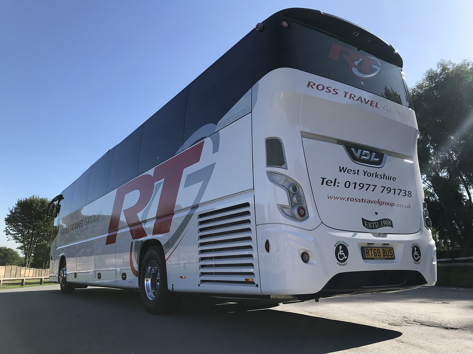 ross travel group coach