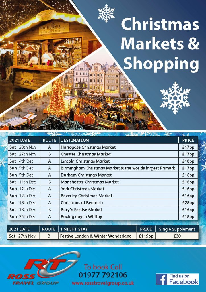 Christmas Markets 2021